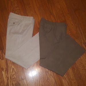 2 Pair Banana Republic Pants - Size 8